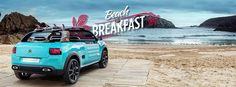 #Citroen regala un soggiorno Beach & Breakfast a bordo della nuova #concept #CactusM