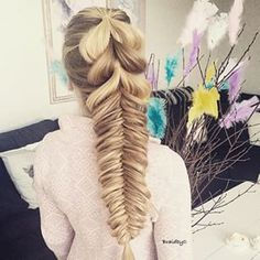 Pull-through & fishtail