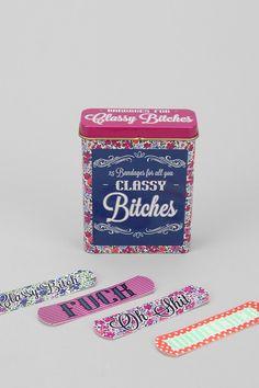 Classy Bandages!