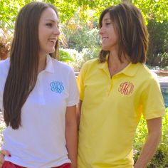 Ladies Monogrammed Polo in 10 Colors Embellish Accessories and Gifts San Antonio, Texas
