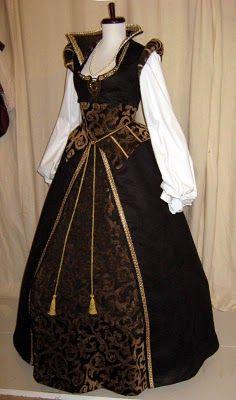 Flashback TV Fashion, Renaissance Collection: Nursemaid Dress