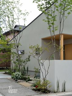 Best Home Color Modern 17 Ideas Interior Garden, Interior And Exterior, Japanese Style House, Pocket Garden, Vertical Garden Wall, Casa Patio, Garden Design, House Design, Love Garden