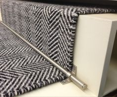 CAVALCANTI | Herringbone. Flat woven with pure New Zealand wool. Available in bespoke colours and sizes, suitable for stair runners, wall to wall carpets and loose lay rugs. http://www.cavalcanti.co.uk