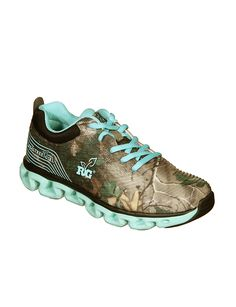 Realtree Girl Ms. Constrictor Lace-up Shoes - Waterproof. New color.  #Realtreegirl