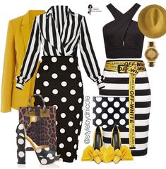 Outfit number 1 but with yellow shoes Fashion Mode, Work Fashion, Fashion Looks, Fashion Outfits, Womens Fashion, Fashion Trends, Classy Outfits, Stylish Outfits, Fall Outfits