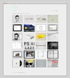 web + grid + minimal