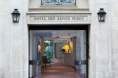 Located in the heart of Saint Germain des Prés, the Hotel des Saints Pères, a former century private home, welcomes you to the residence of Louis. Five Star Hotel, 4 Star Hotels, Best Hotels, Hotel Motel, Comfy Bed, Paris Hotels, Smoking Room, Front Desk