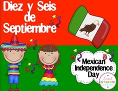 Diez y Seis is a holiday celebrated even more than Cinco de Mayo by Mexican Americans. I've provided an interactive powerpoint which is great an in. Independence Day Activities, Mexican Independence Day, American Independence, Spanish Lessons, Teaching Spanish, Spanish 1, Elementary Spanish, Spanish Classroom, Teaching Activities