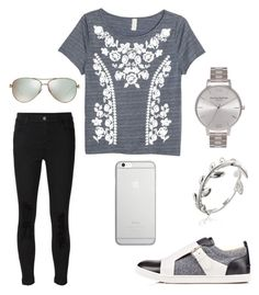 """""""<3 this shirt! {221}"""" by lilyschaefer ❤ liked on Polyvore featuring J Brand, Olivia Burton, Tiffany & Co., Best Jewellery and Native Union"""