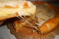 Retete Culinare - Tarta cu branza de oaie si de vaca