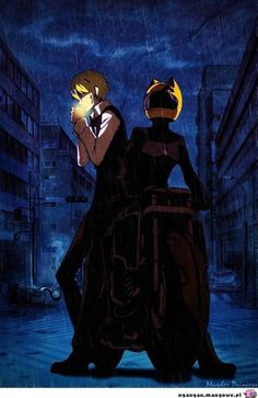 Find images and videos about anime, durarara and drrr on We Heart It - the app to get lost in what you love. Izaya Orihara, Shizaya, Manga Art, Anime Manga, Anime Art, Anime Couples Manga, Cute Anime Couples, Anime Girls, Blue Exorcist