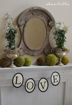 Our Valentine's Decorating by Dear Lillie