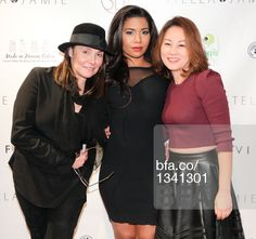 Devora Goltry, Jessica Pimentel, April Mun at Fashion night out with STELLA & JAMIE & JESSICA PIMENTEL from Orange is the New Black. #BFAnyc #Foravi #StellaAndJamie #AprilMun #JessicaPimentel #DevoraGoltry