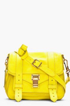 PROENZA SCHOULER Sunshine Yellow PS1 Pouch
