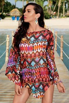 Pentru a avea o zi minunata la plaja Cover Up, Costume, Beach, Dresses, Fashion, Showgirls, Gowns, Moda, The Beach