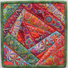 Mini Ribbon Crazy Quilt | Flickr - Photo Sharing!