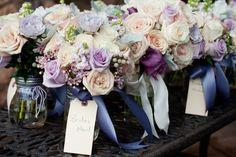 beautiful purple/lilac bouquets!!  Snowy Sedona Wedding from Sedona Bride Photographers  Read more - http://www.stylemepretty.com/2012/05/07/snowy-sedona-wedding-from-sedona-bride-photographers/