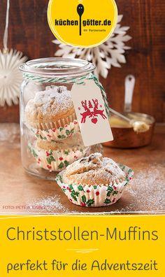 Der Christstollen gehört einfach zum Advent, ist aber zeitaufwendig in der Zubereitung. Unser Rezept für Christstollen-Muffins ist eine tolle Alternative, die genauso gut schmecken.
