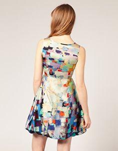 Enlarge Mina Pixel Floral Dress