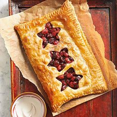 Berry-Cherry Slab Pie