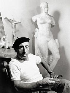 Victor Brecheret, c. 1954  Foto: © Chico Albuquerque