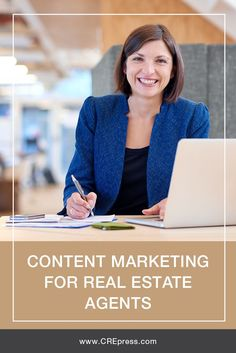 Content Marketing For Real Estate Professionals. This is very helpful! #realestate #commercialrealestate #CRE #marketing #blogging