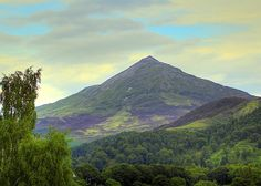 The Fairy Hill of the Caledonians - Schiehallion - Perthshire from the Loch Rannoch side