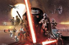 Star Wars The Force Awakens - Group Poster at AllPosters.com