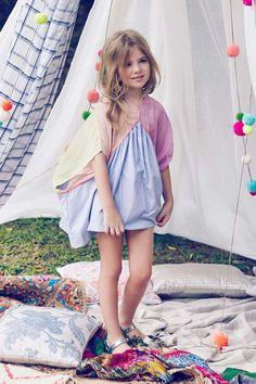 Nellystella Claudia Dress - Multicolor - Mini Ruby