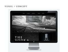 Pur Vodka Web Rebranding on Behance