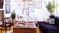 Whitney port's pad. 15 Envy-Inducing Celebrity Living Rooms via @domainehome