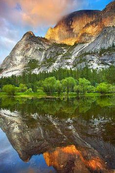 Amazing Lakes- California -Mirror Lake Yosemite National Park-California