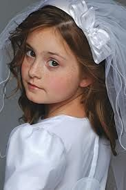 first communion veils - Google Search