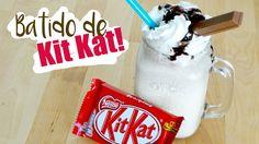 BATIDO DE KIT KAT FÁCIL I Kit Kat milkshake recipe ♥ Qué cositas