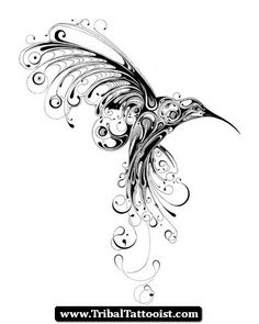 music hummingbird tattoo - Google Search