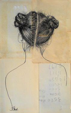 "Saatchi Art Artist: Loui Jover; Conte 2013 Drawing ""sailing ships"" ^"