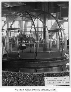 the bubbleator at the 1962 seattle world's fair