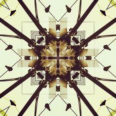 Birds on a line #city #newyork #birds #sacred #geometry #digital #art #photography #kaleidoscope #mandala #thelovelution