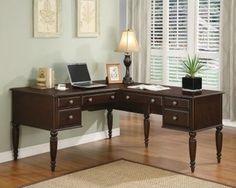 Wynwood Lancaster Writing Desk with Deck - modern - desks - Hayneedle