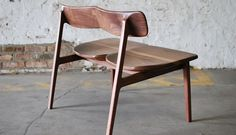 Silla - banco para dos. Furniture Maker Jason Lewis
