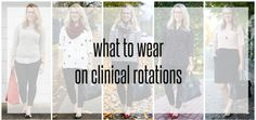 Franish: what to wear on clinical rotations