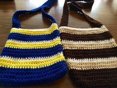 DIY: Easy Crochet Satchel