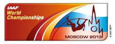 Logo Moscu 2013, Moscow 2013, mundiales de atletismo, IAAF WORLD CHAMPIONSHIPS