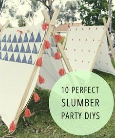 Here are 10 awesome slumber party DIYs to try out for your next sleepover from Babble.com #pjnight