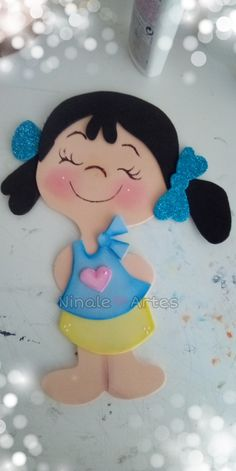 Foam Crafts, Diy Crafts For Kids, Preschool Activities, Fabric Crafts, Arts And Crafts, Paper Crafts, Paper Punch Art, Lol Dolls, Fabric Painting