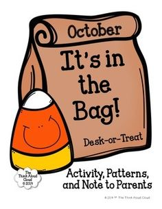 FREE Halloween Activity ~ Do you Desk-or-Treat? Try this fun Trick-or-Treat style activity in your classroom. The students have lots of fun with it!  #Free #Halloween #TrickorTreat