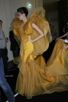 Stephane Rolland Haute Couture Spring 2014 - Backstage