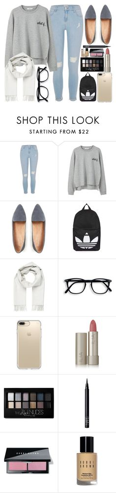 """""""Neutral """" by itsfashioninfinity on Polyvore featuring River Island, MANGO, Topshop, Brioni, Speck, Ilia, Maybelline, NARS Cosmetics and Bobbi Brown Cosmetics"""