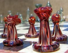 Chess Set by BCMGlass