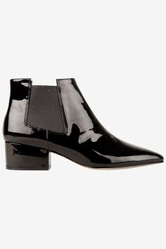 30 Gorgeous Work Shoes For Every Office (& Budget) #refinery29  http://www.refinery29.com/budget-work-shoes#slide-8  Ankle Boots Just the right amount of shine, don't you think?